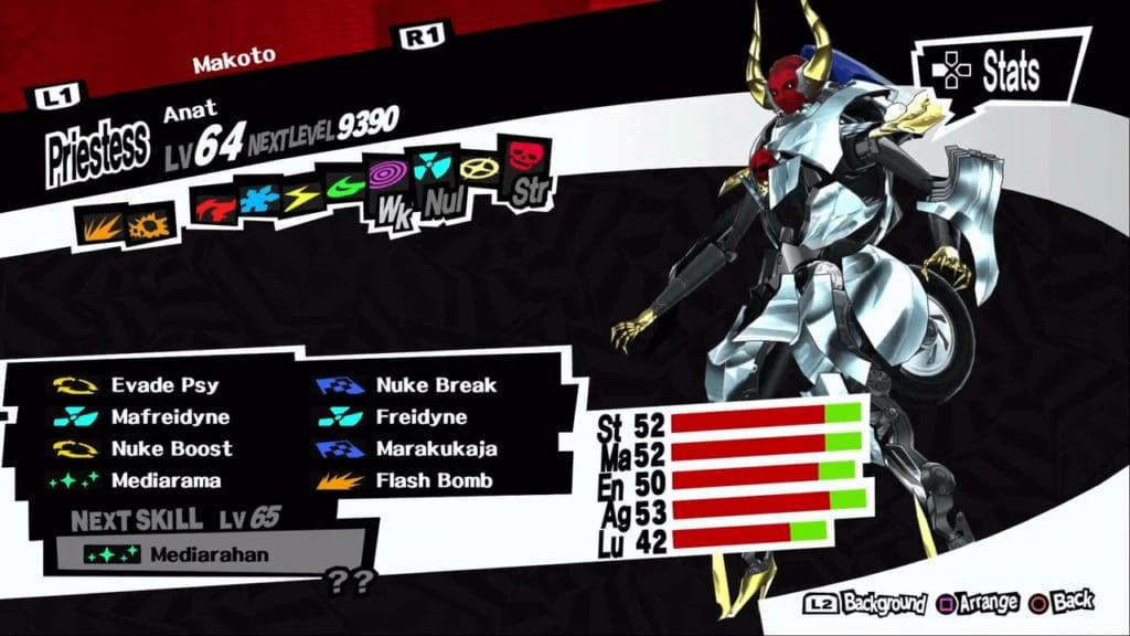 Persona 5 / Persona 5 Royal - Anat