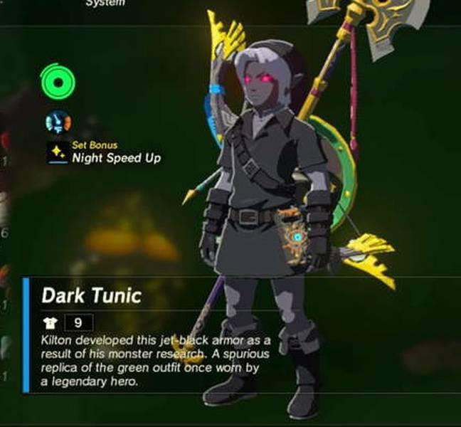 Dark Armor Set Guide The Legend Of Zelda Breath Of The Wild Samurai Gamers
