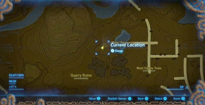 Shard Of The Dragon Fang Locations The Legend Of Zelda Breath Of The Wild Samurai Gamers