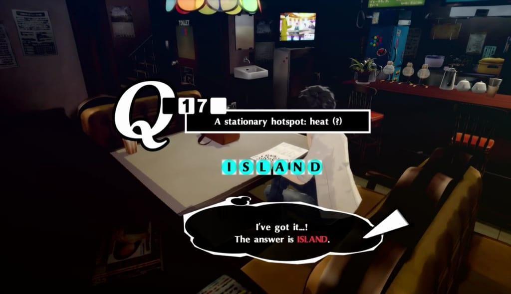 Persona 5 / Persona 5 Royal - Crossword Puzzle 8/3