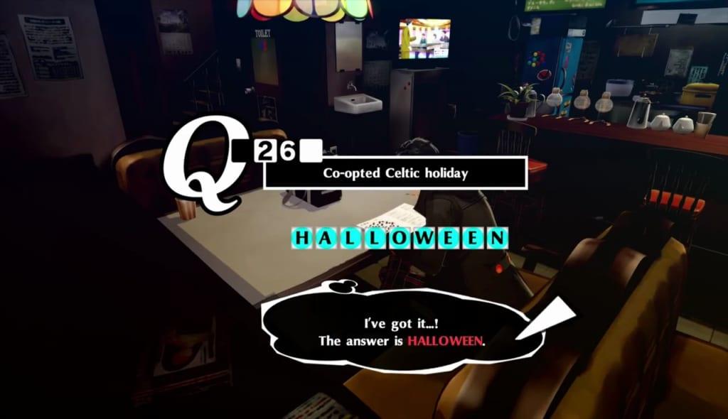 Persona 5 / Persona 5 Royal - Crossword Puzzle 10/10