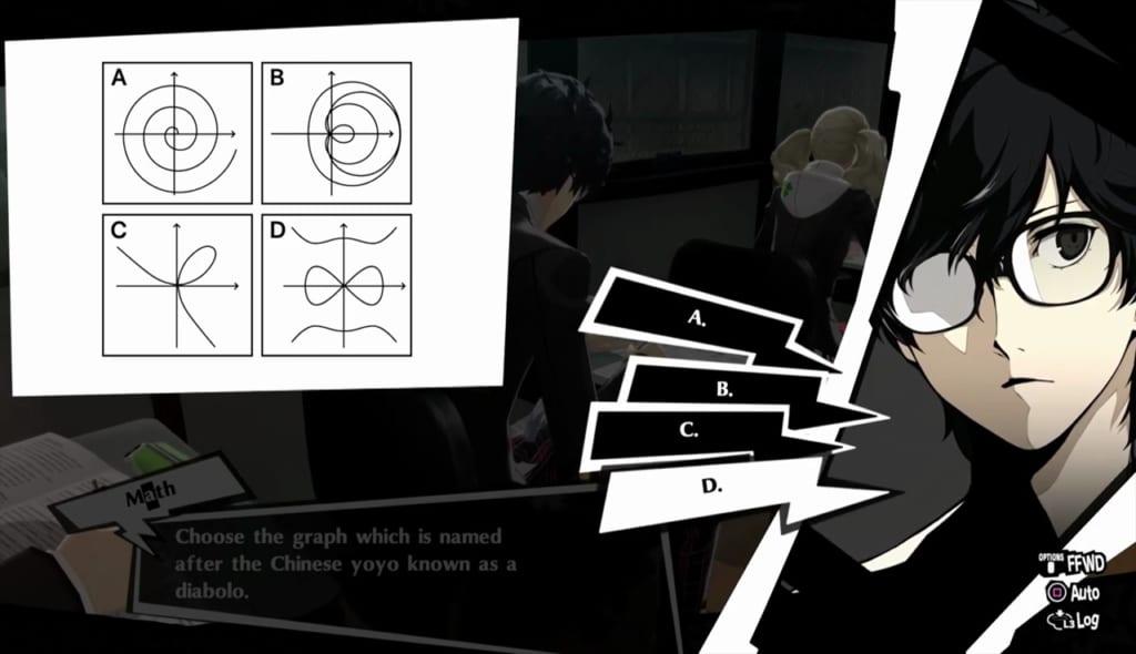 Persona 5 Royal - December Exam