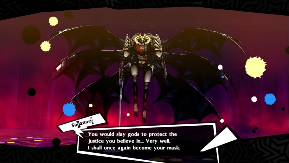 Persona 5 Royal - Satanael Fusion