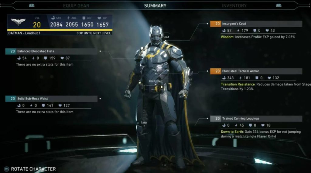 batman gear
