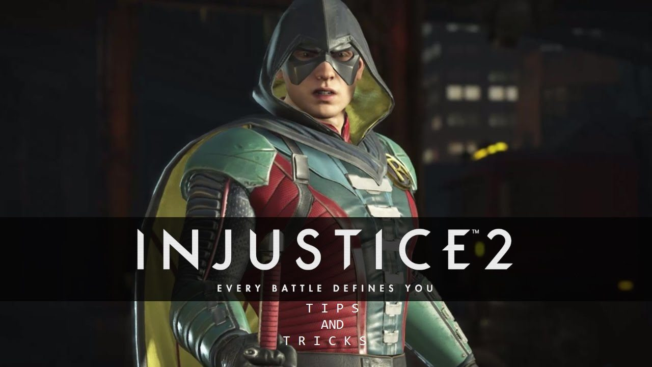 injustice 2 rushdown characters