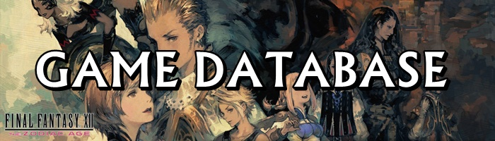 Final Fantasy 12: The Zodiac Age / FFXII: TZA - Game Database