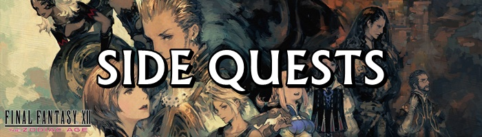 Final Fantasy 12: The Zodiac Age / FFXII: TZA - Sidequests