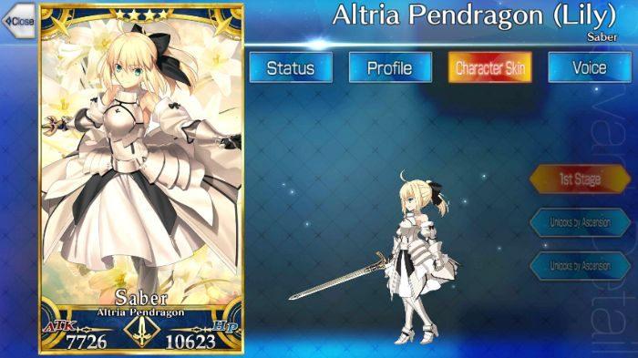 altria pendragon lily