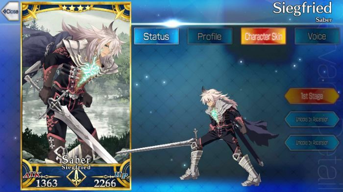 Fate Grand Order/FGO] Siegfried (Saber): Skills, Stats and