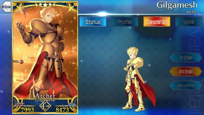 Fate Grand Order/FGO] Gilgamesh (Archer): Skills, Stats and