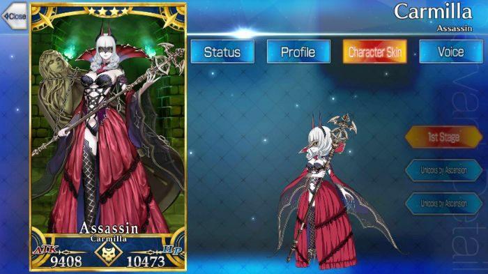 Fate Grand Order / FGO] Carmilla: Skills, Stats and, Strategies