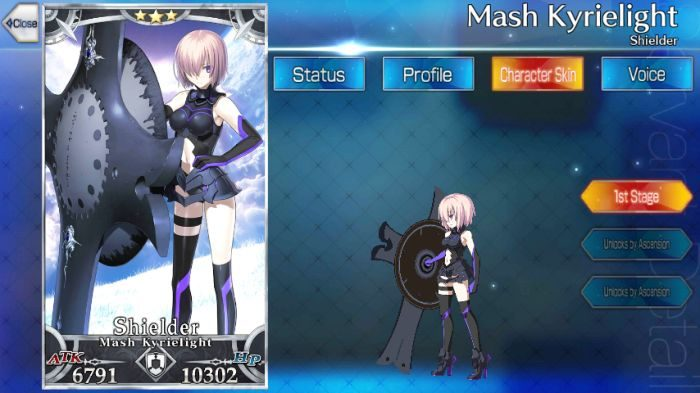 Fate Grand Order/FGO] Mash Kyrielight: Skills, Stats and