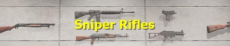 PUBG Sniper Rifle