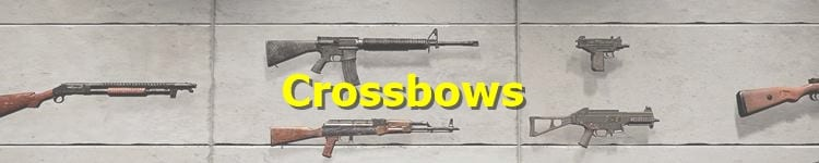 PUBG Crossbows