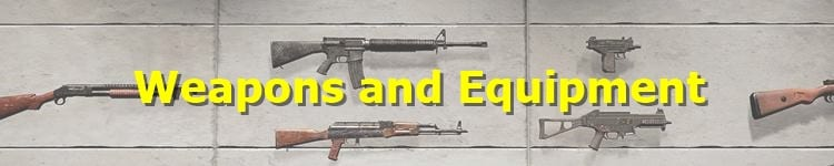 Weapons and Equipment Banner