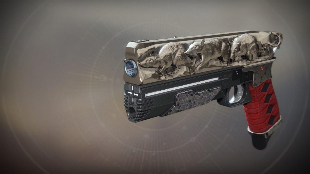 Destiny 2 Sidearm Rat King