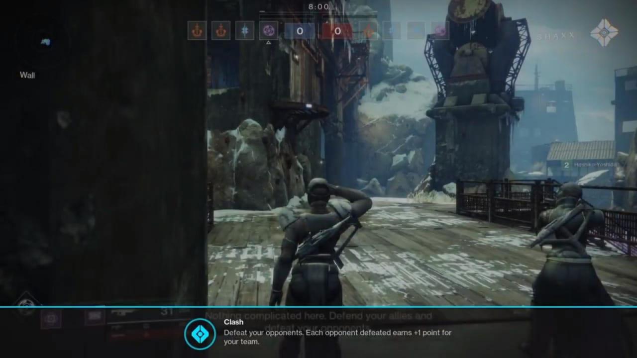Destiny 2 Crucible: Clash