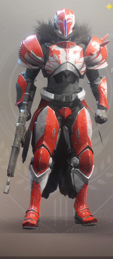 Phoenix Strife Type 0 Titan Armor Set: Legendary Armor