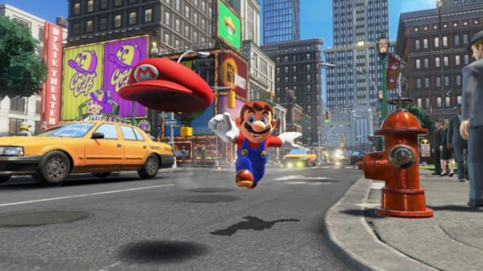 Mario Controls in Super Mario Odyssey