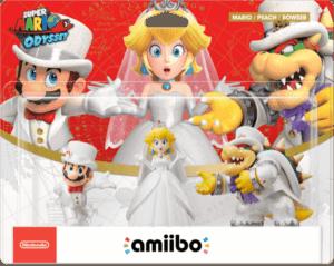 Super Mario Odyssey Wedding Outfit amiibo Figures