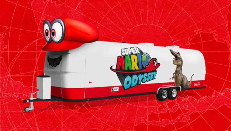 Mario USA Cross-Country Tour