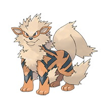 Arcanine Pokedex Data