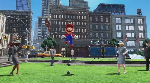 Jump Rope Challenge Super Mario Odyssey