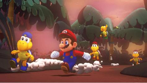 Koopa Troopa Challenge Super Mario Odyssey