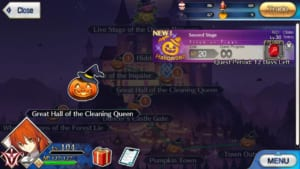 Second Stage Halloween Free Quest