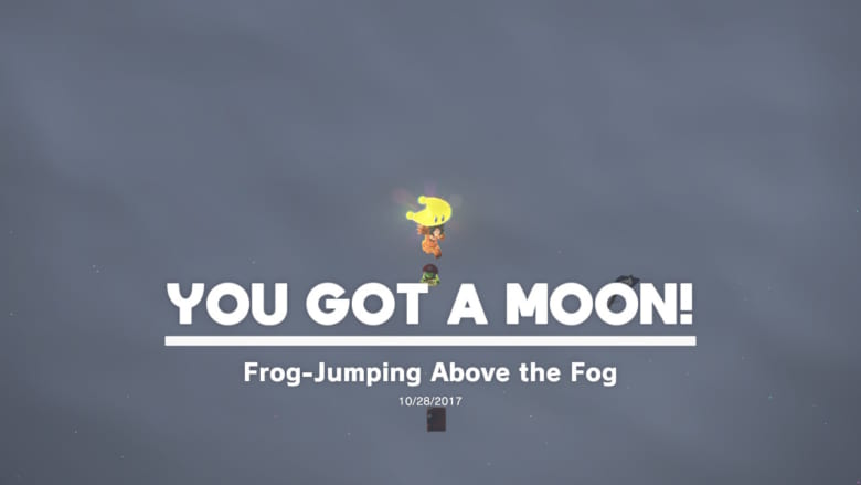 Frog-Jumping Above the Fog Power Moon