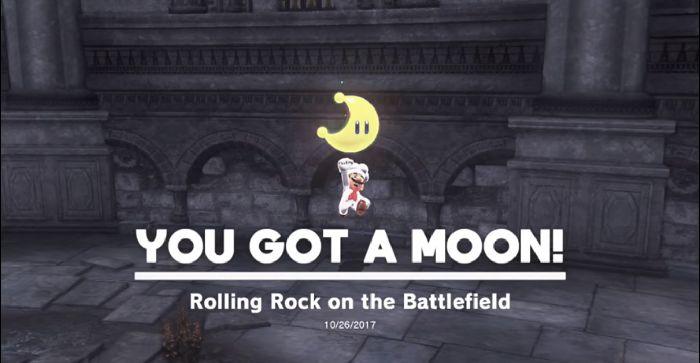 Ruined Kingdom Rolling Rock on the Battlefield