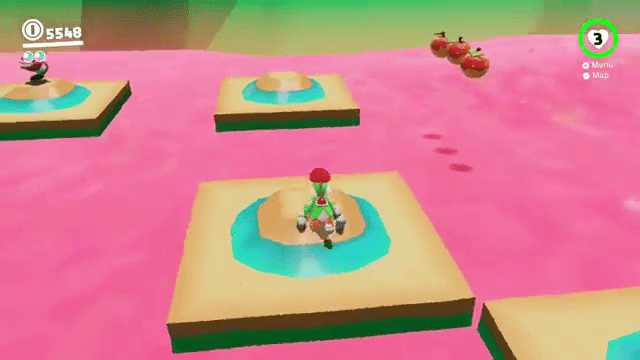 Yoshi's Magma Swamp