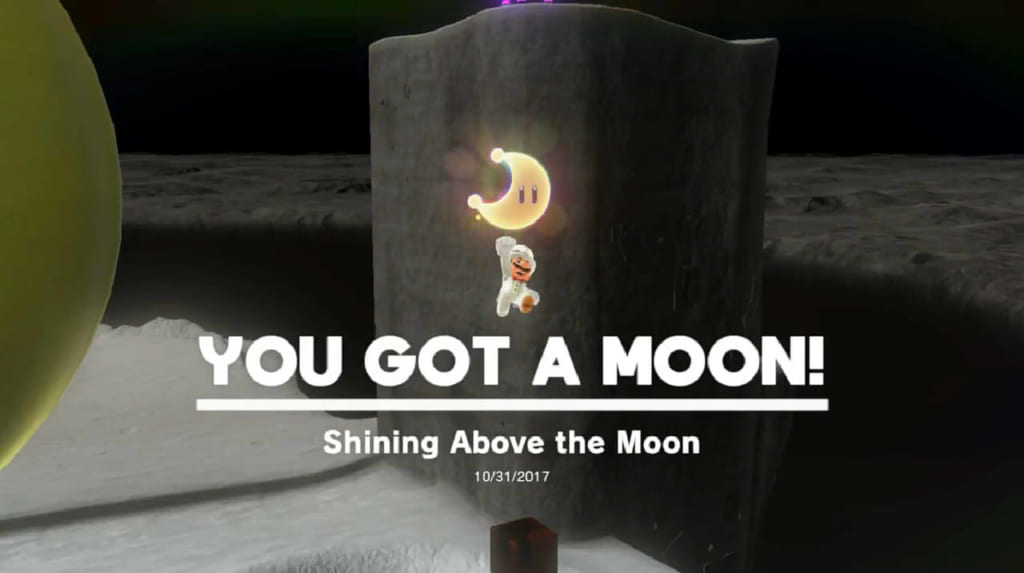 Shining Above the Moon