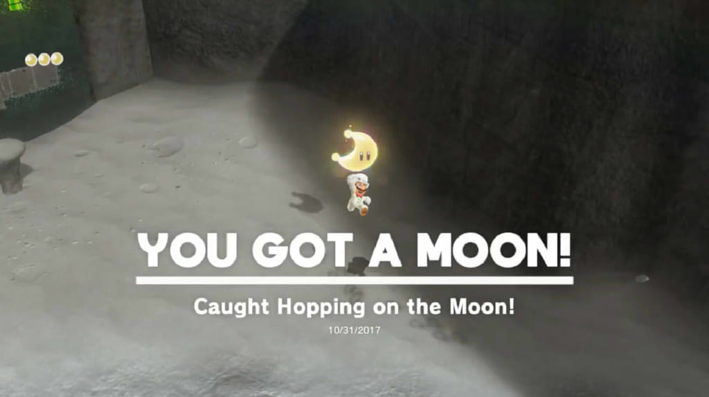 Caught Hopping on the Moon!