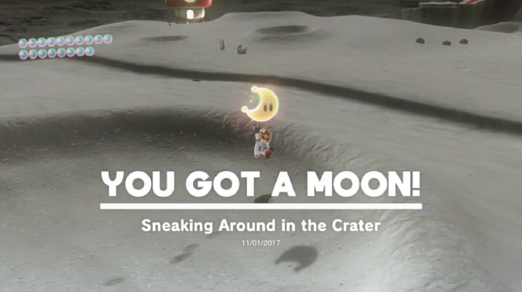 Sneaking Around In The Crater