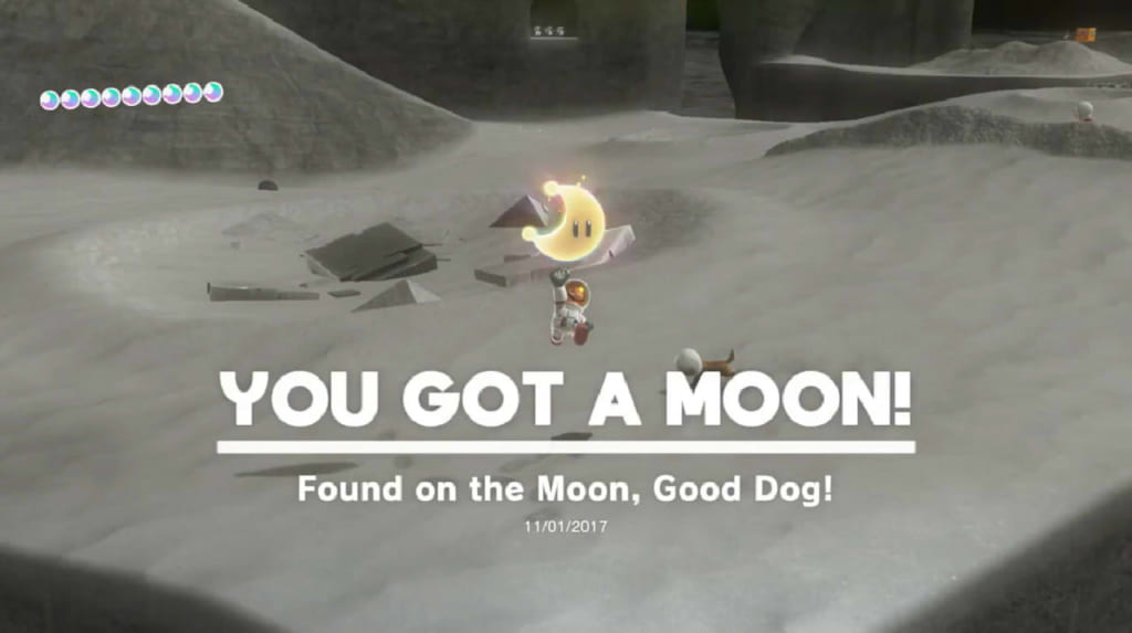 Found on the Moon, Good Dog!