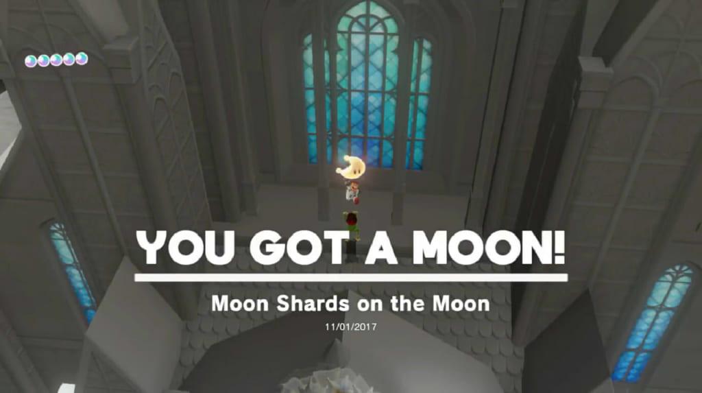 Moon Shards on the Moon