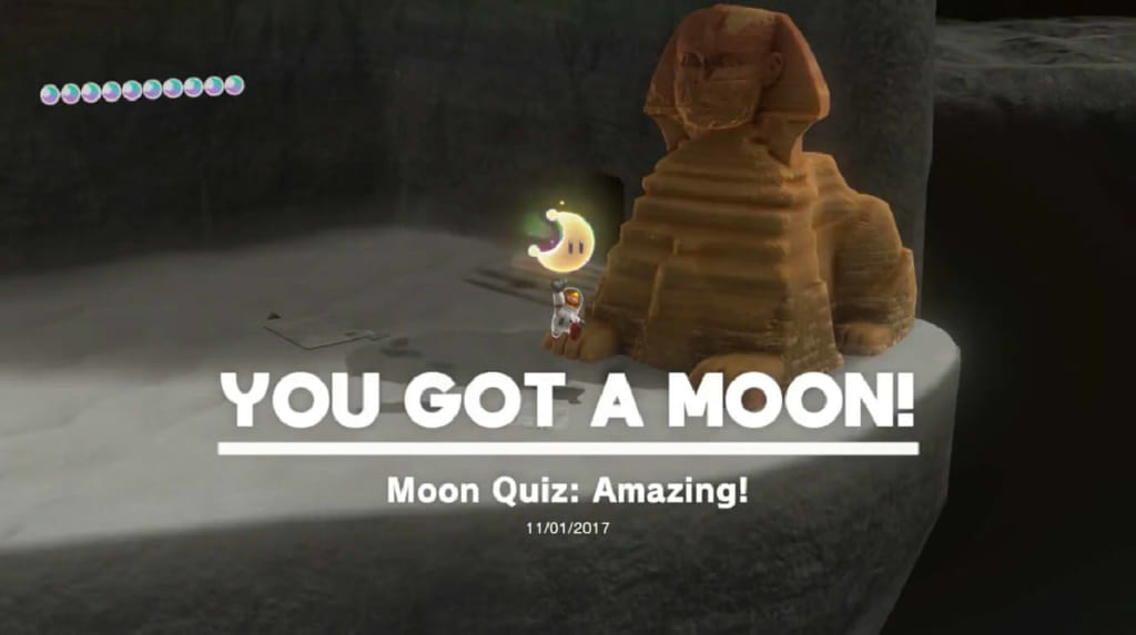 Moon Quiz: Amazing!