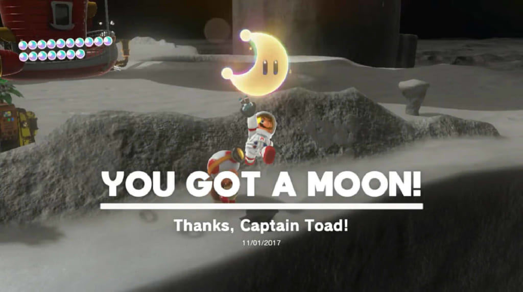 Thanks, Captain Toad!