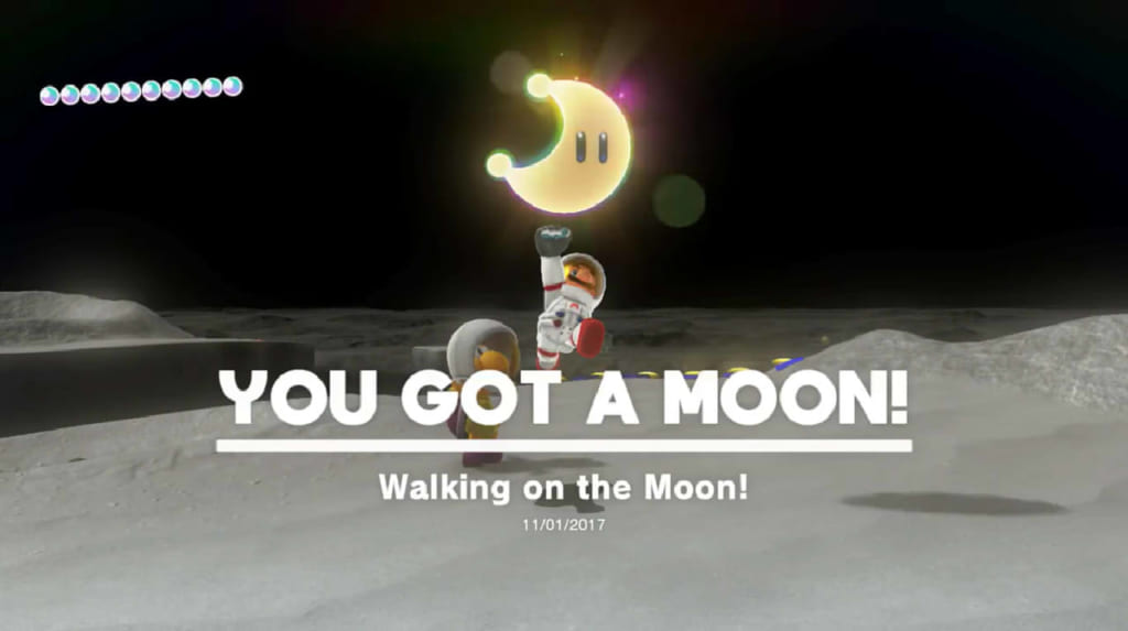 Walking on the Moon!