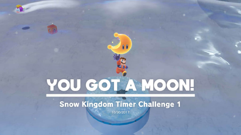 Snow Kingdom Timer Challenge 1