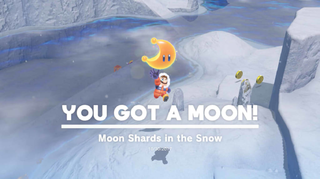 Moon Shards in the Snow
