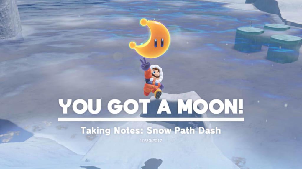 Taking Notes: Snow Path Dash