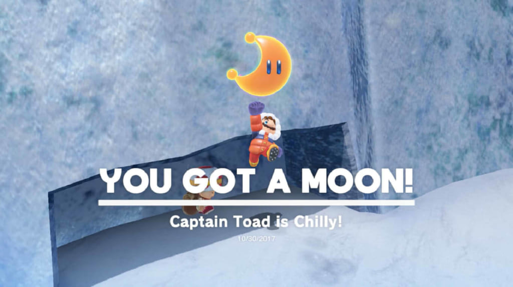Captain Toad is Chilly