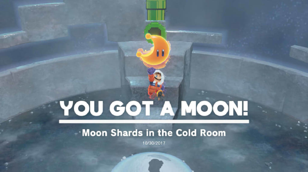 Moon Shards in the Cold Room