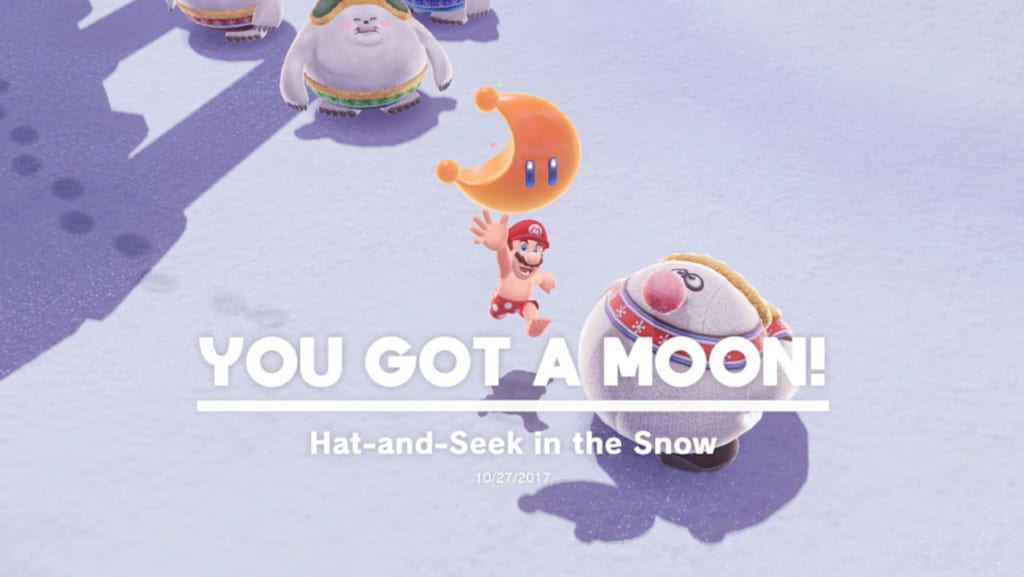 Hat-and-Seek in the Snow