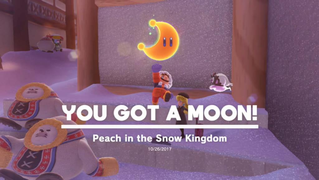 Snow Kingdom Power Moon No 37 Peach In The Snow Kingdom