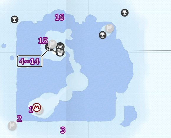 Snow Kingdom Purple Coin Locations Guide Samurai Gamers