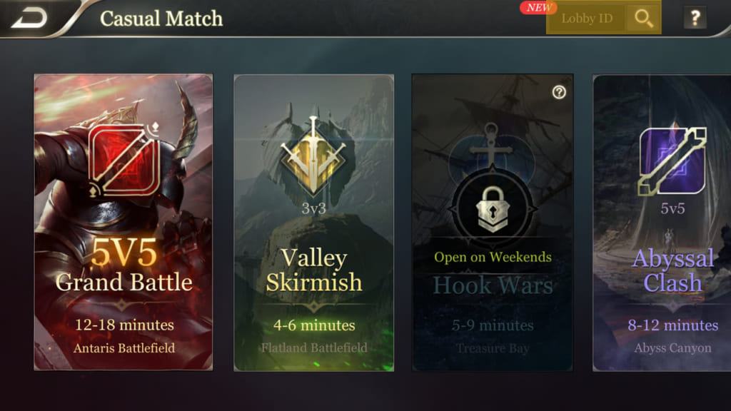 Arena of Valor Match 4