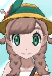 Girl Green Eye Color
